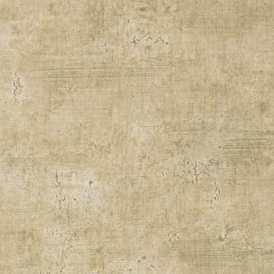 Thibaut Faux Resource Carro T75125 Metallic on Cream Wallpaper