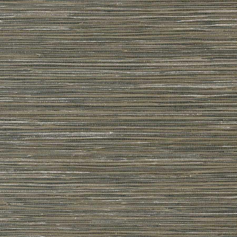 Thibaut Faux Resource Jindo Grass T75122 Smoke Wallpaper