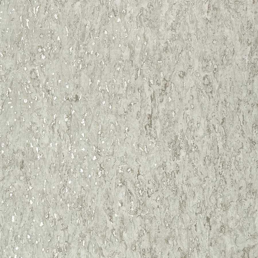 Thibaut Faux Resource Montado Cork T75108 Putty and Metallic Pewter Wallpaper