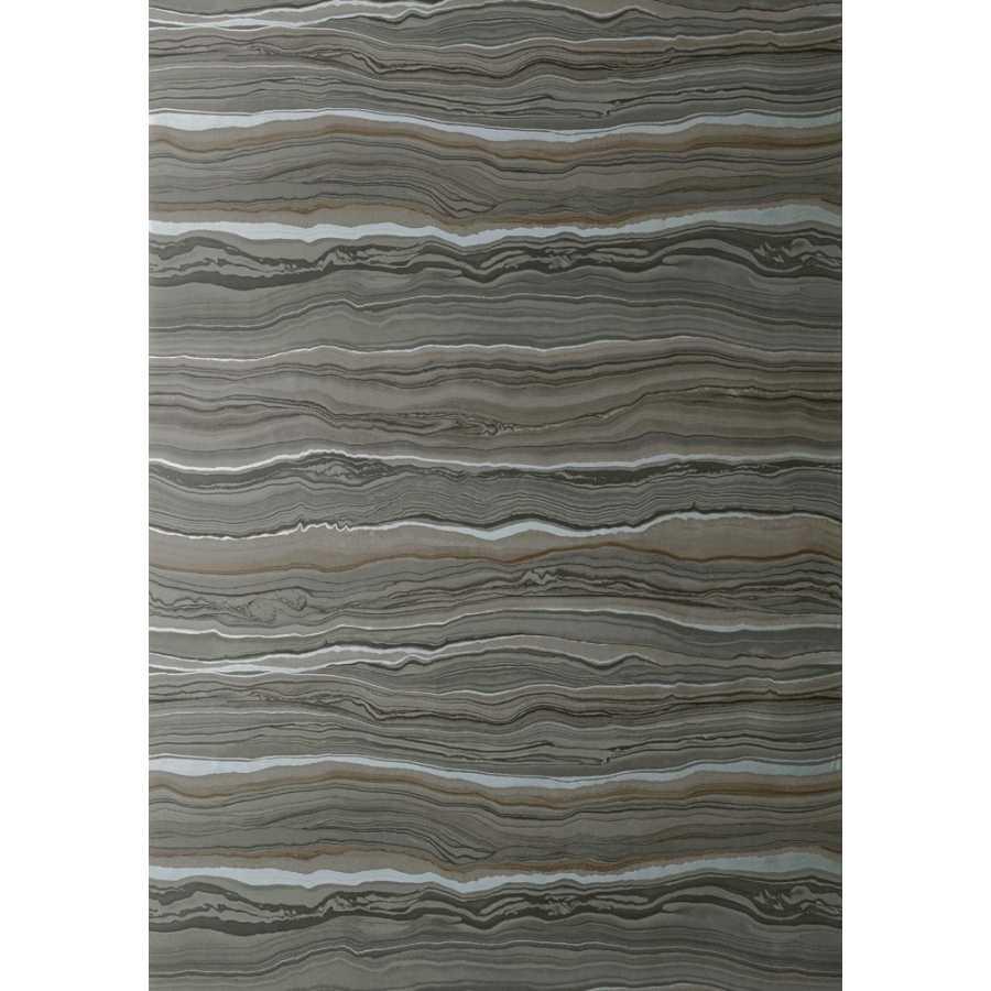Thibaut Faux Resource Treviso Marble T75177 Smoke Wallpaper