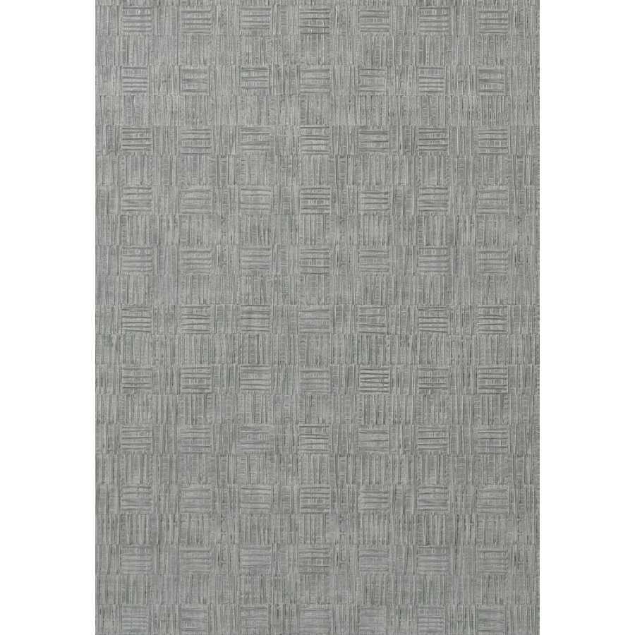 Thibaut Faux Resource Tunica Basket T75086 Slate Wallpaper