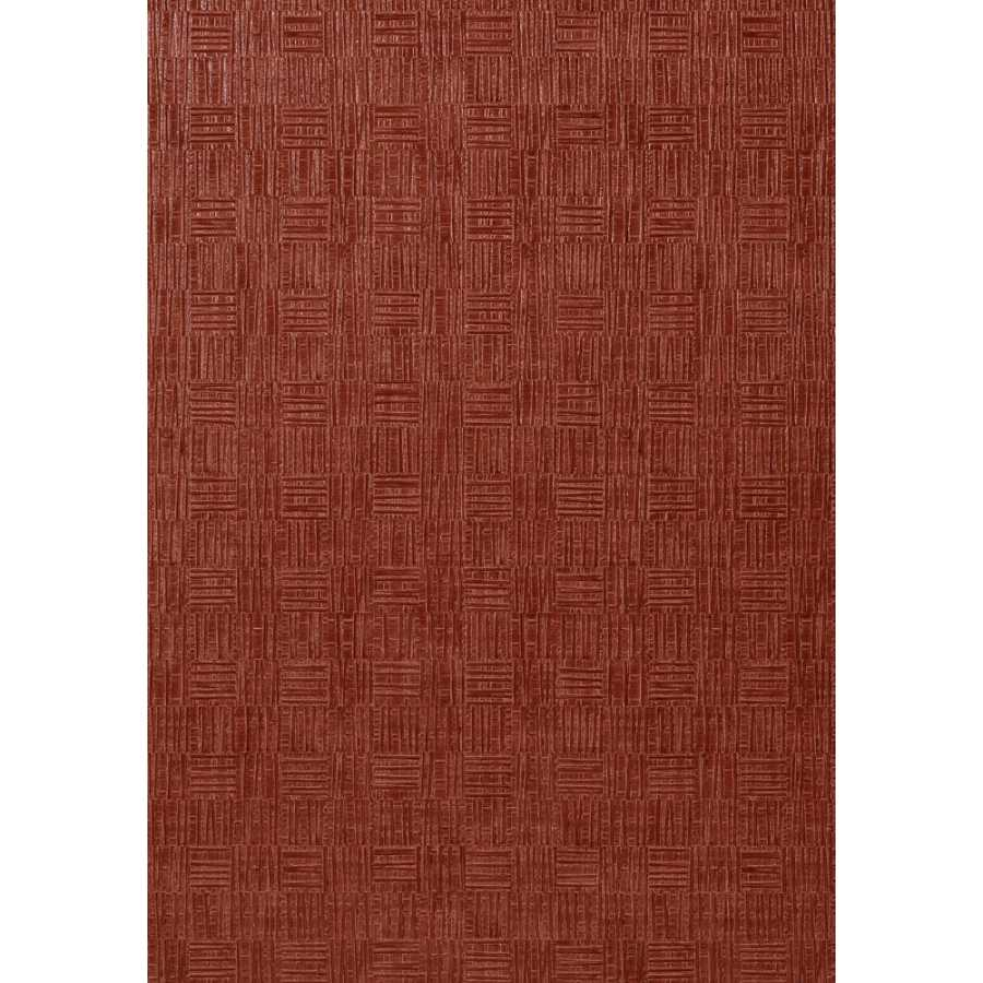 Thibaut Faux Resource Tunica Basket T75087 Red Wallpaper
