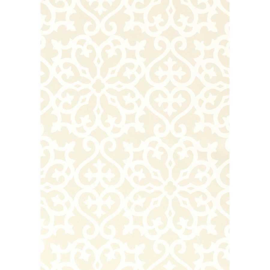 Thibaut Graphic Resource Allison T1826 Beige Wallpaper