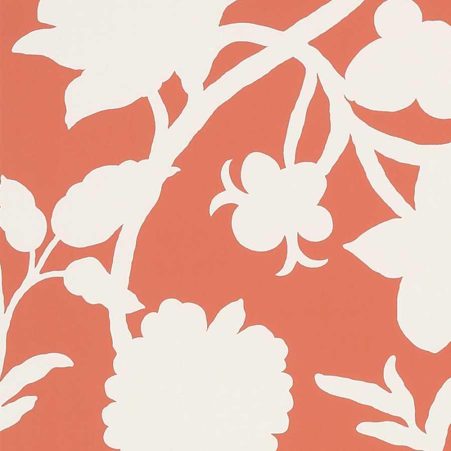 Thibaut Graphic Resource Cabrera T35140 Coral Wallpaper
