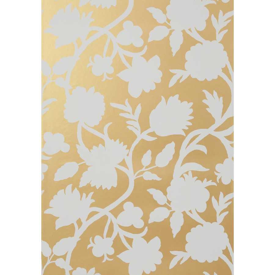 Thibaut Graphic Resource Cabrera T35156 Metallic Gold Wallpaper