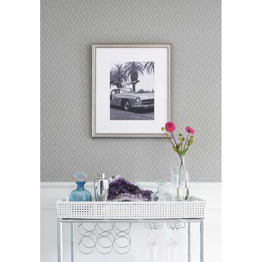 Thibaut Graphic Resource Dedalo T35154 Grey Wallpaper
