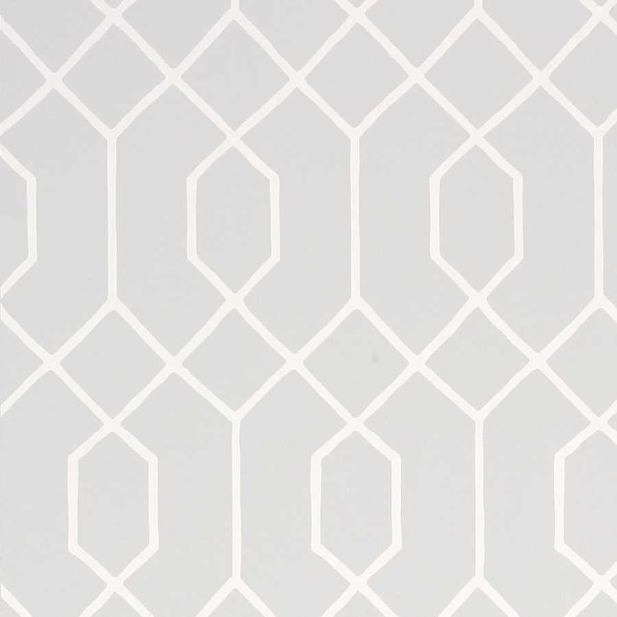 Thibaut Graphic Resource La Farge T35198 Grey Wallpaper