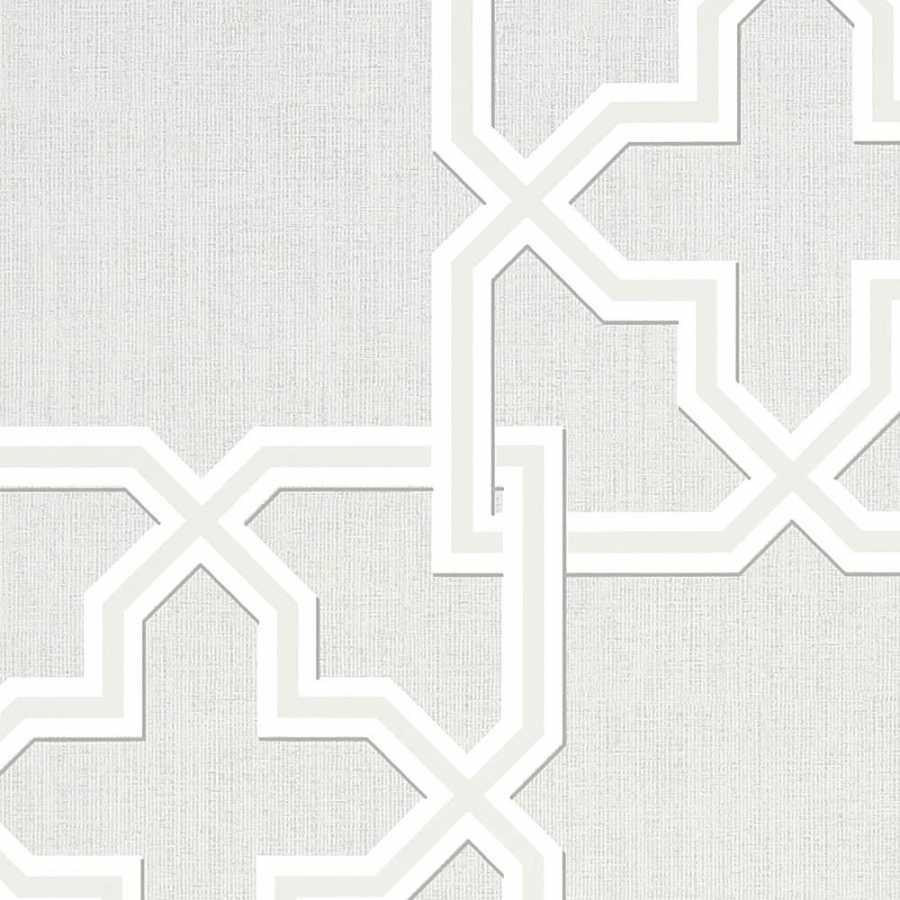 Thibaut Graphic Resource Pierson T35129 Grey Wallpaper