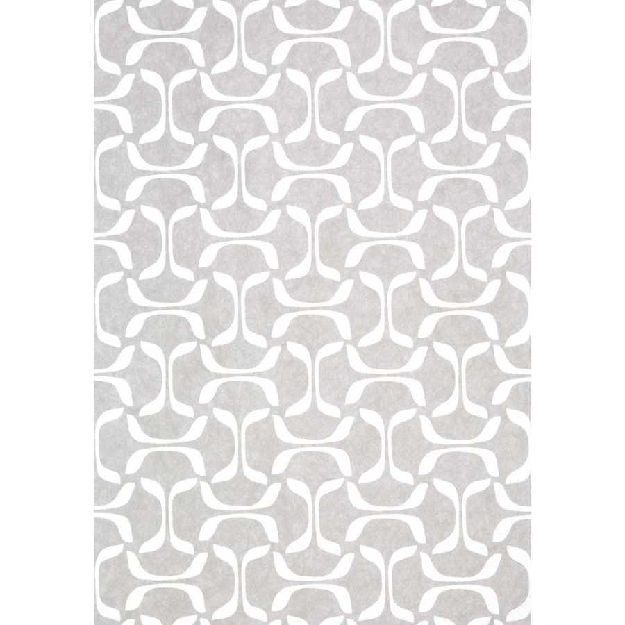 Thibaut Graphic Resource Saroka T35103 Grey Wallpaper