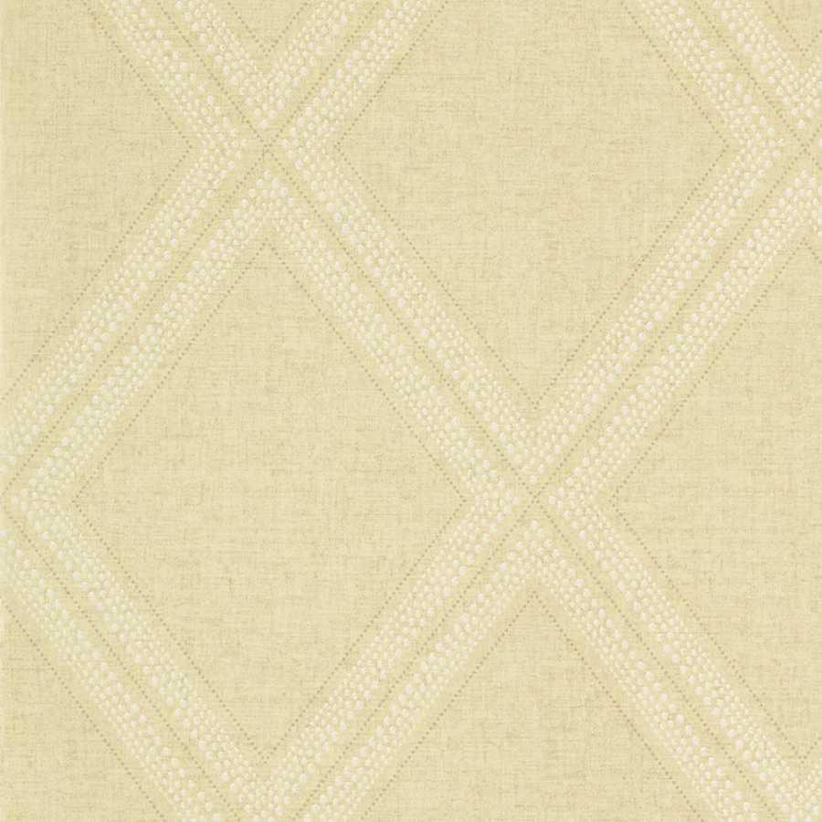 Thibaut Greenwood Diamond Head T85054 Wheat Wallpaper