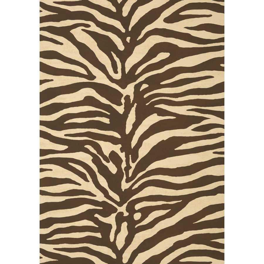 Thibaut Greenwood Serengeti T85032 Brown Wallpaper