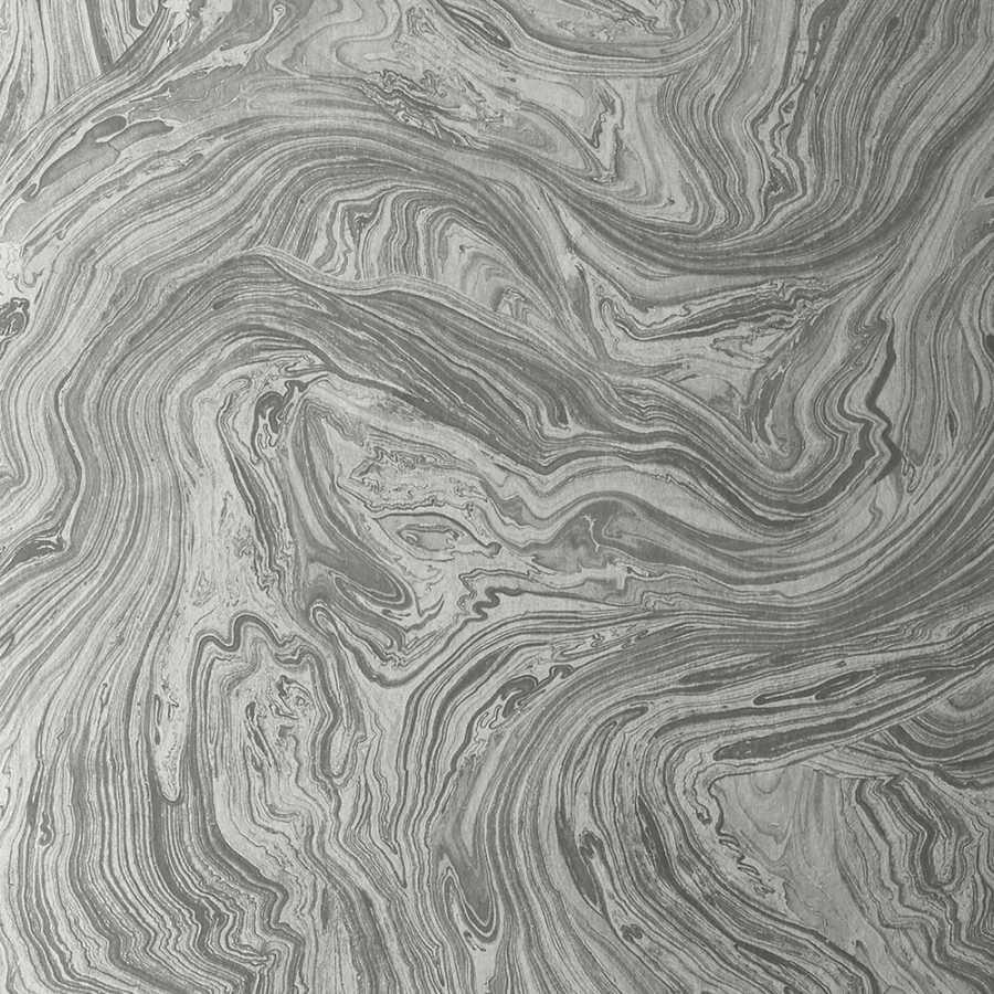 Thibaut Greenwood Venus T85071 Metallic Silver Wallpaper