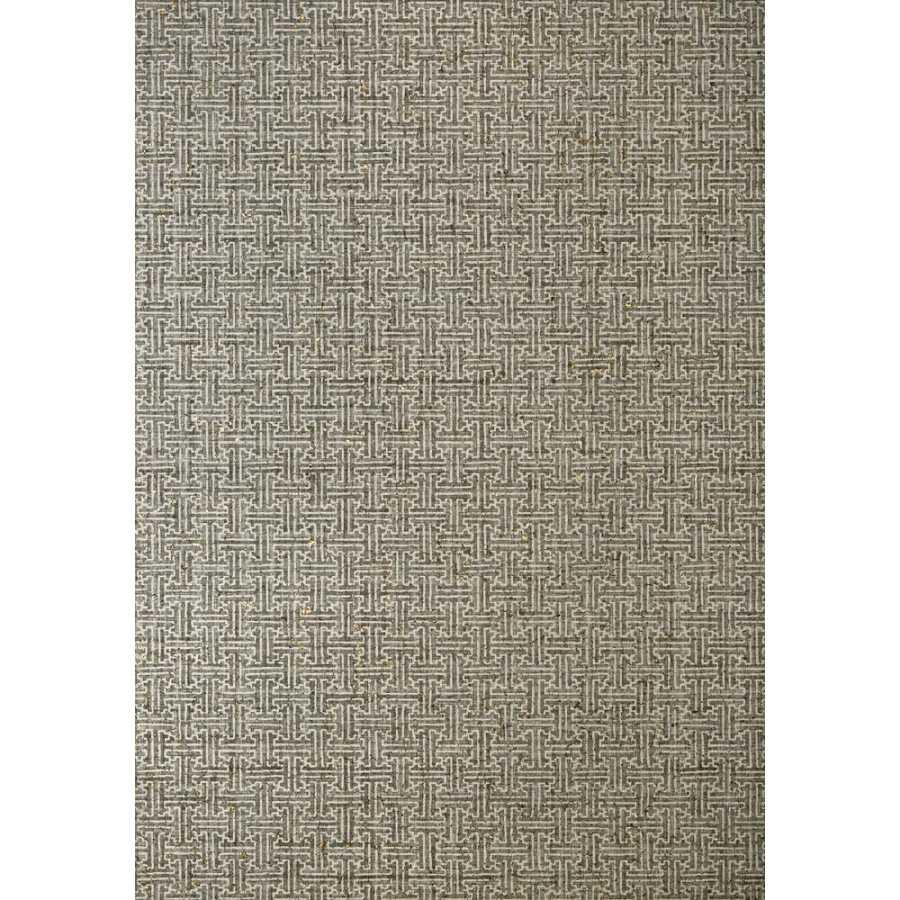 Thibaut Natural Resource 2 Taza Cork T83000 Charcoal Wallpaper