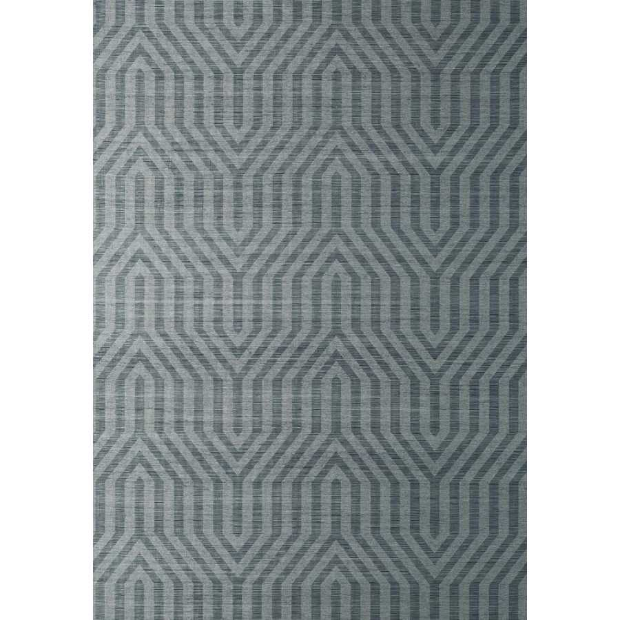 Thibaut Natural Resource 2 Tribeca Sisal T83005 Midnight Blue Wallpaper