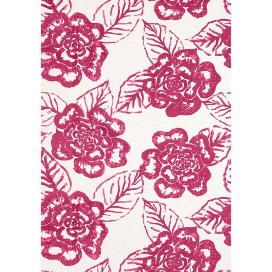 Thibaut Summer House Bonita Springs T13082 Pink Wallpaper