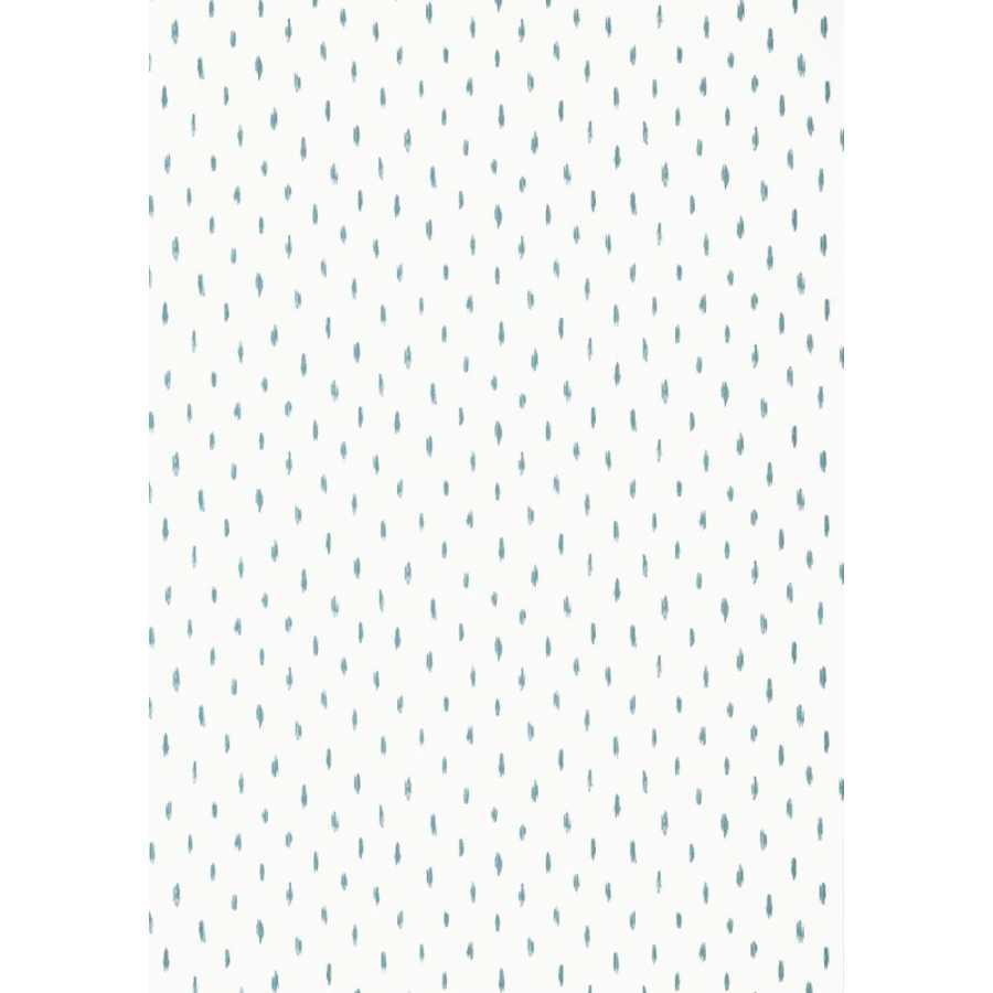 Thibaut Summer House Cayo T13162 Aqua Wallpaper