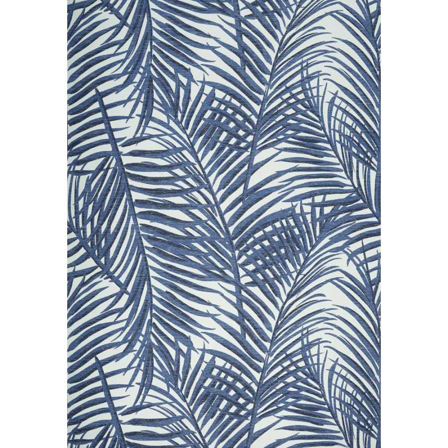 Thibaut Summer House West Palm T13121 Blue and White Wallpaper