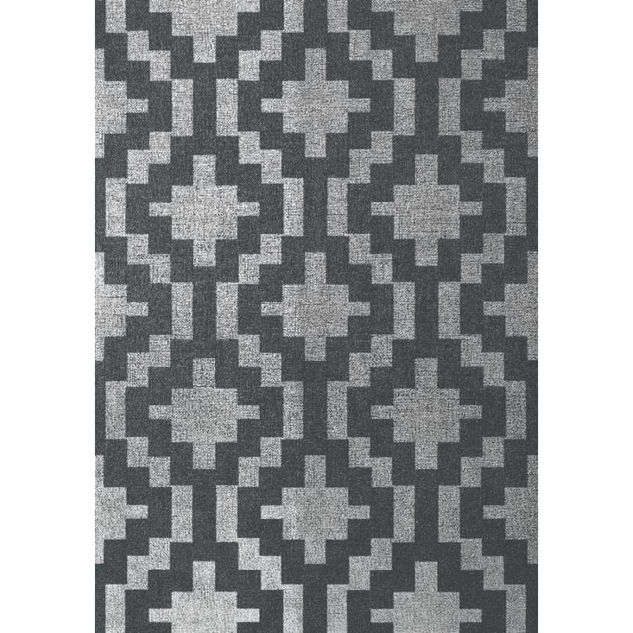 Thibaut Texture Resource 5 Andes T57120 Metallic Silver Wallpaper