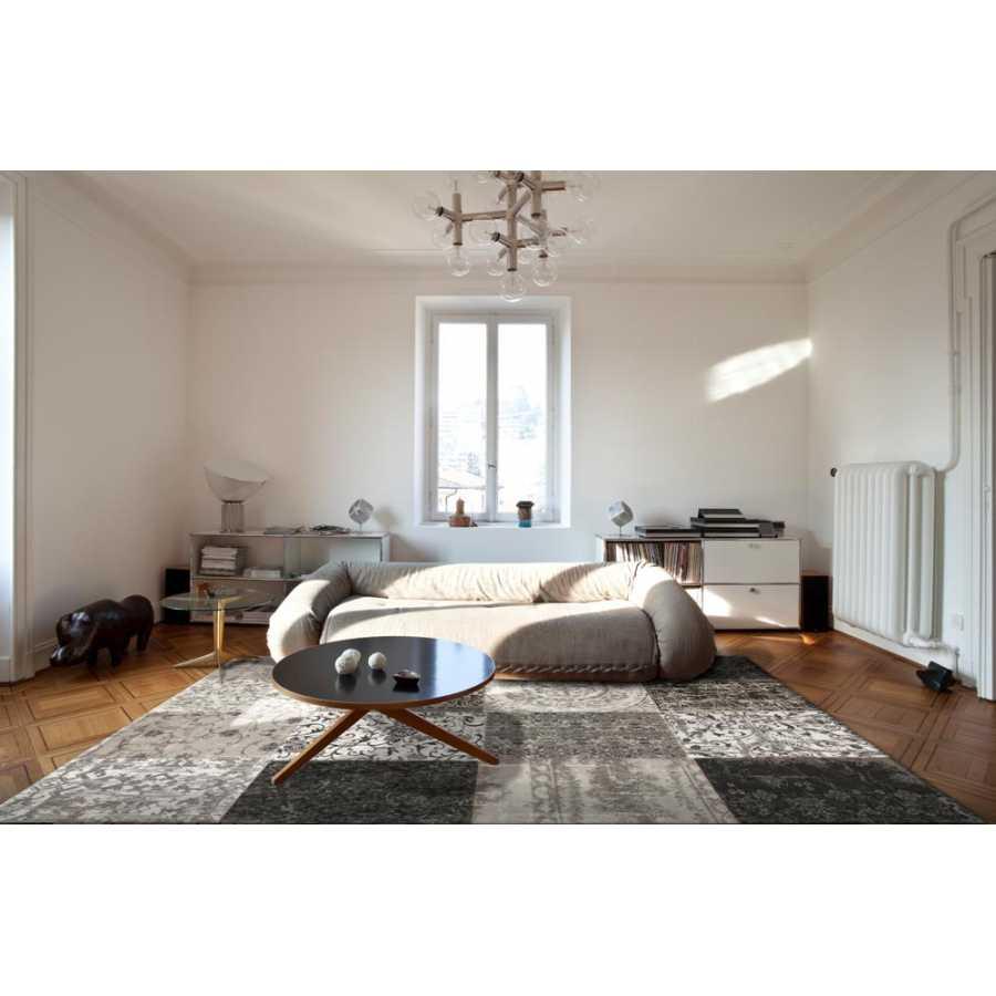 Louis De Poortere Multi Rug - Black & White 8101
