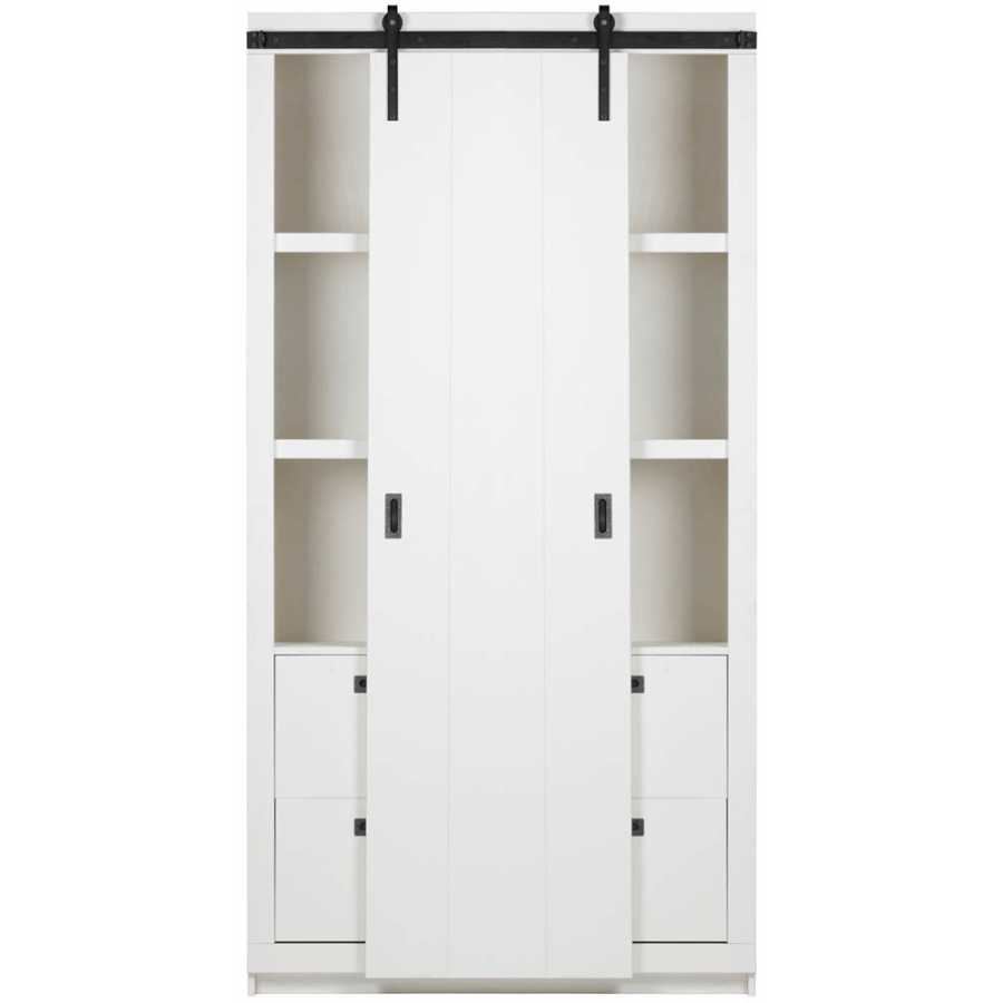 WOOOD Barn Cabinet - White
