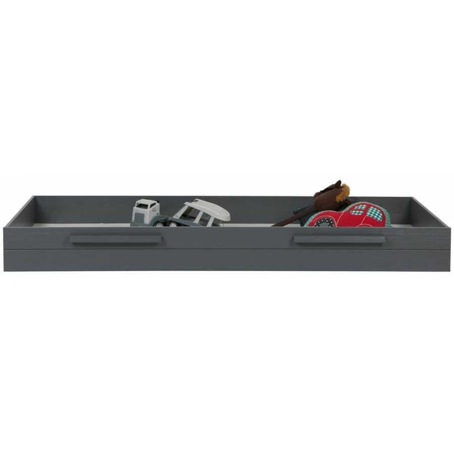 WOOOD Bed Drawer - Steel Grey