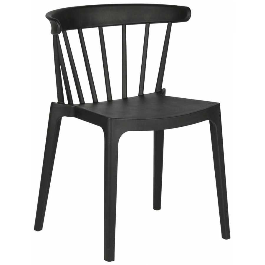 WOOOD Bliss Outdoor Dining Chair - Black