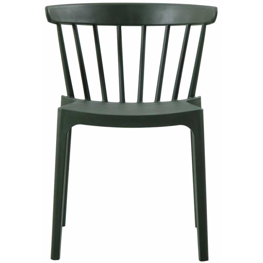 WOOOD Bliss Outdoor Dining Chair - Army Green