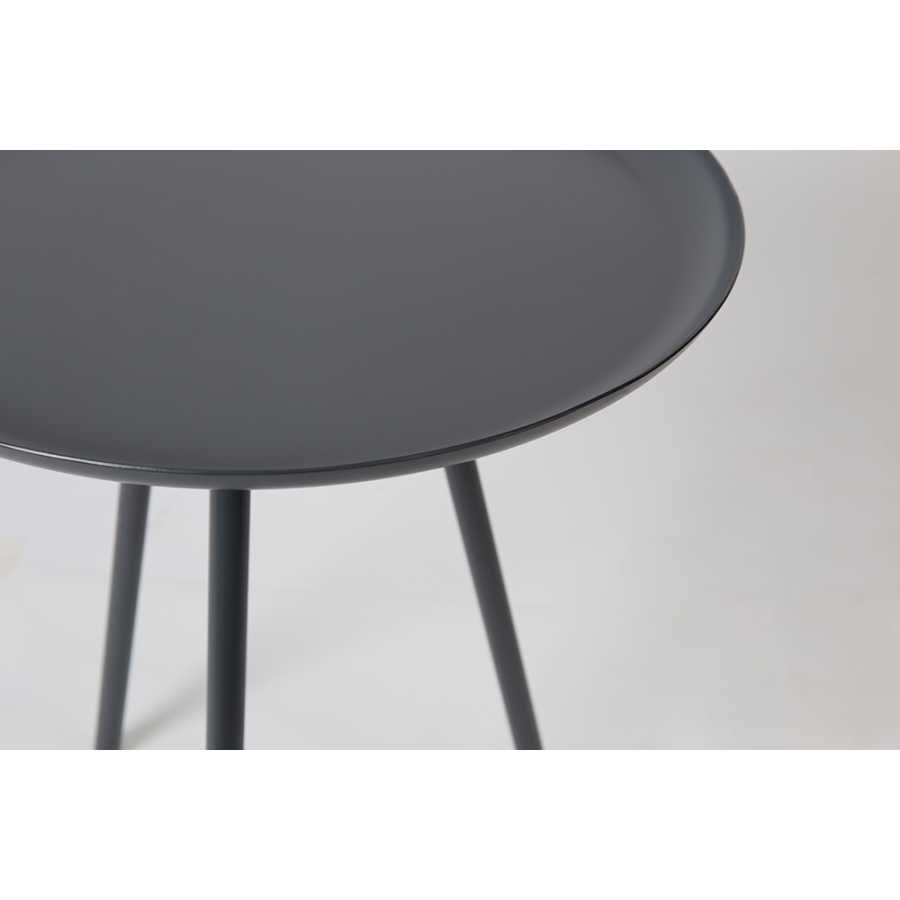 Naken Interiors Frost Side Table - Charcoal