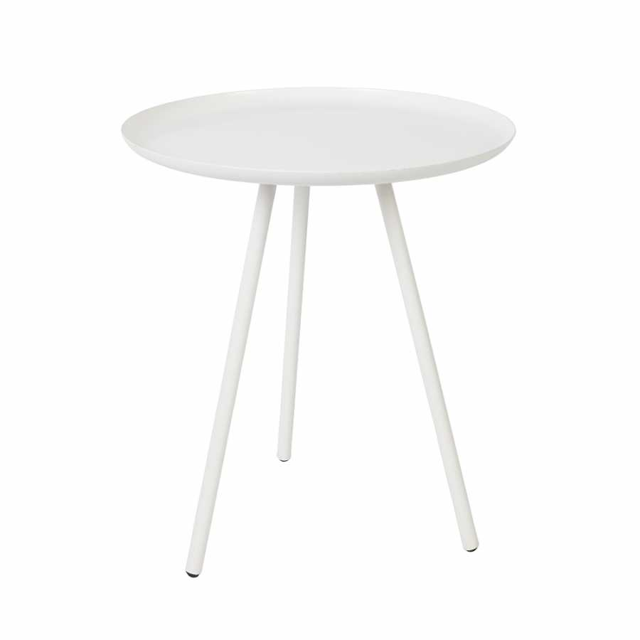 Naken Interiors Frost Side Table - White