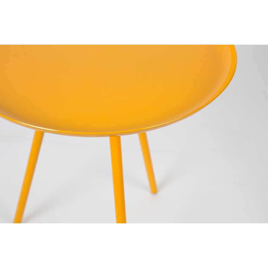 Naken Interiors Frost Side Table - Yellow