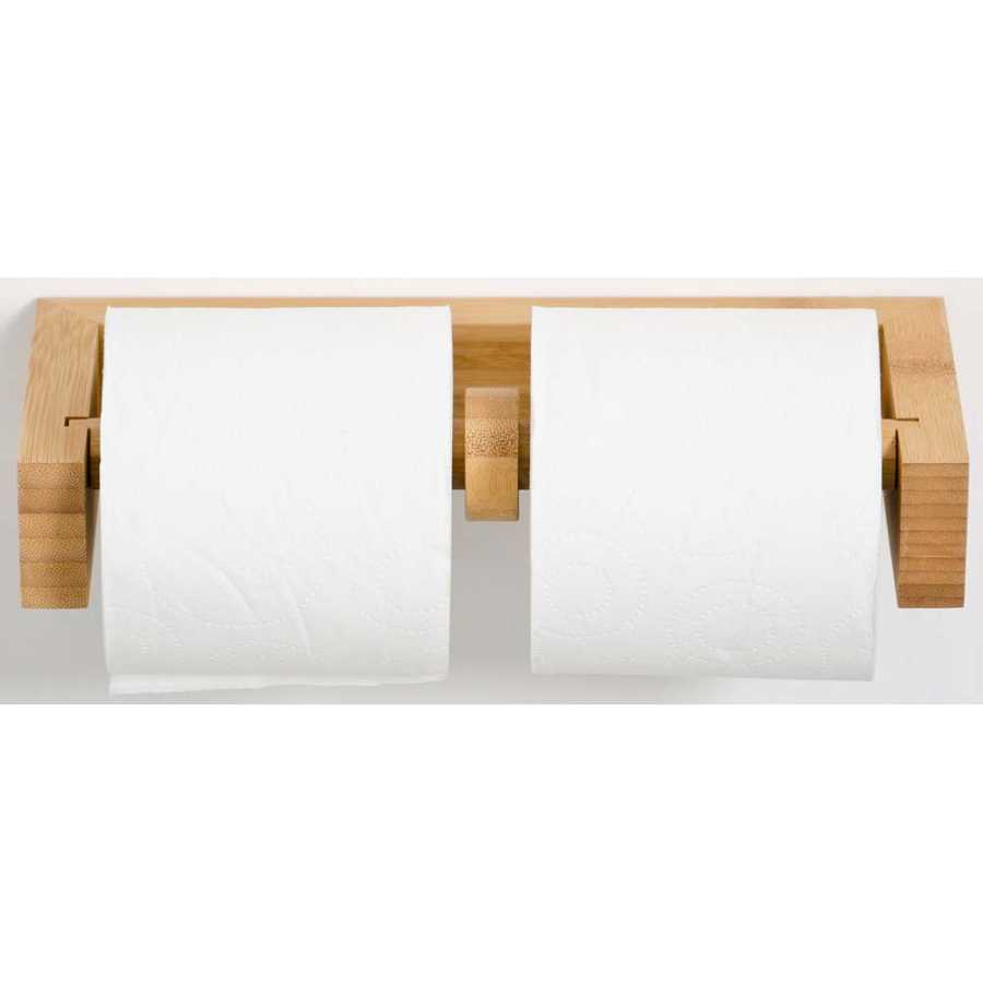 Wireworks Arena Double Toilet Roll Holder