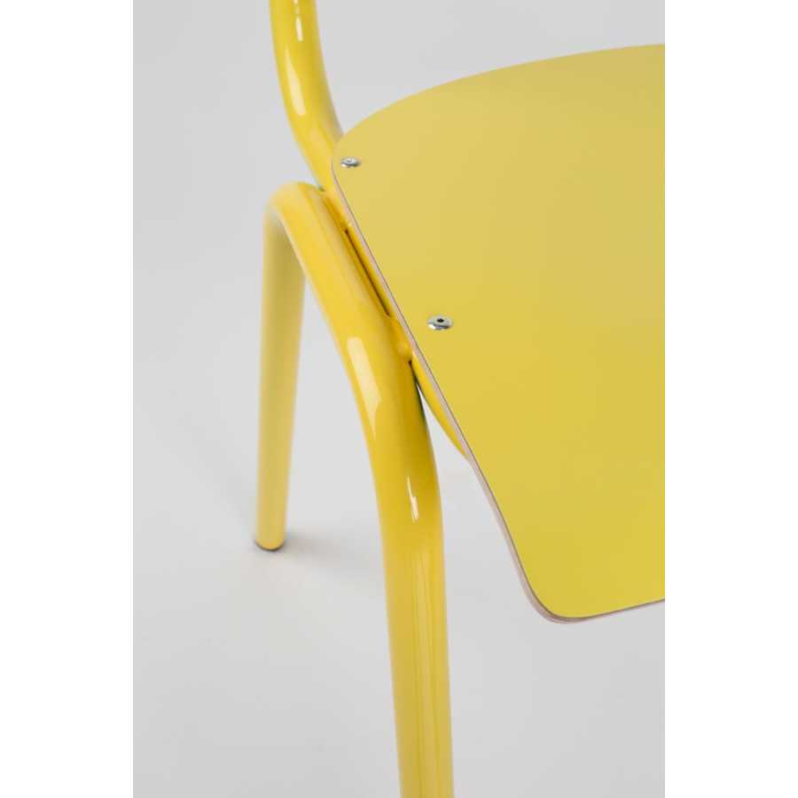 Zuiver Back To School Chairs - Yellow