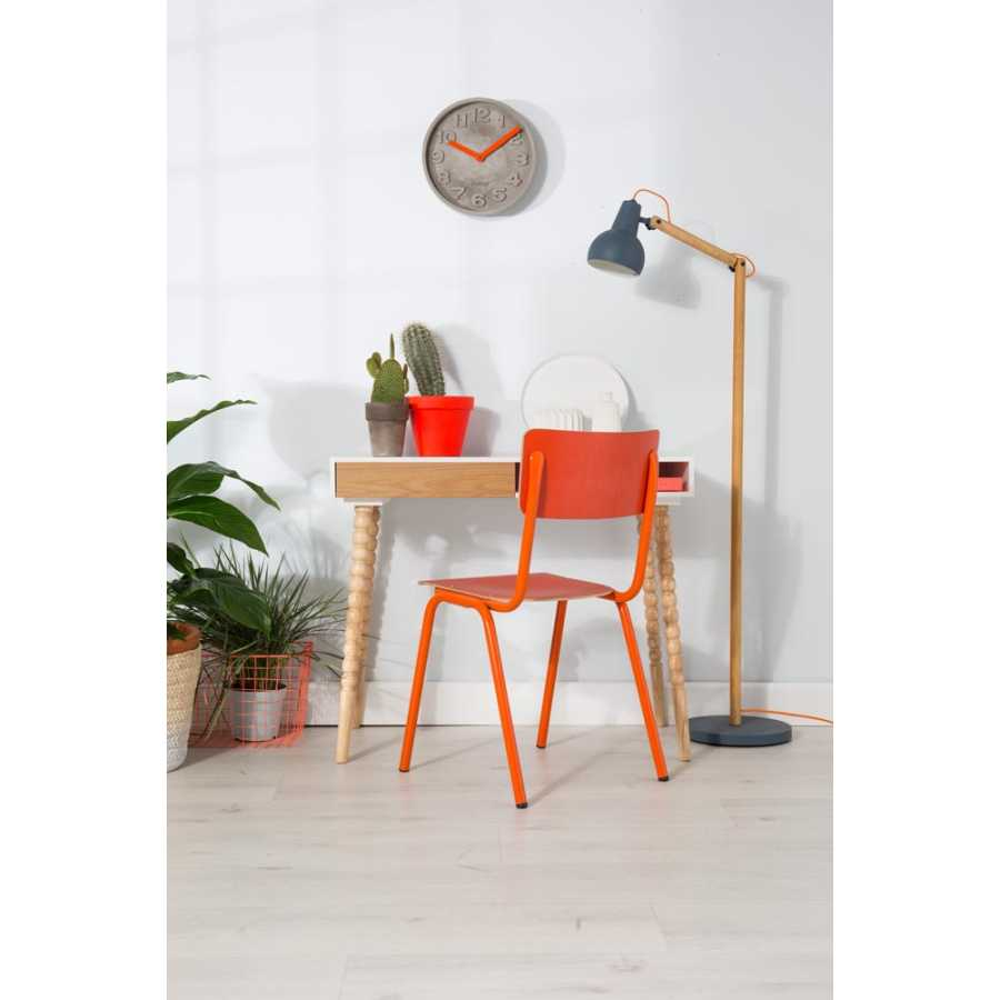 Zuiver Back To School Chairs - Orange