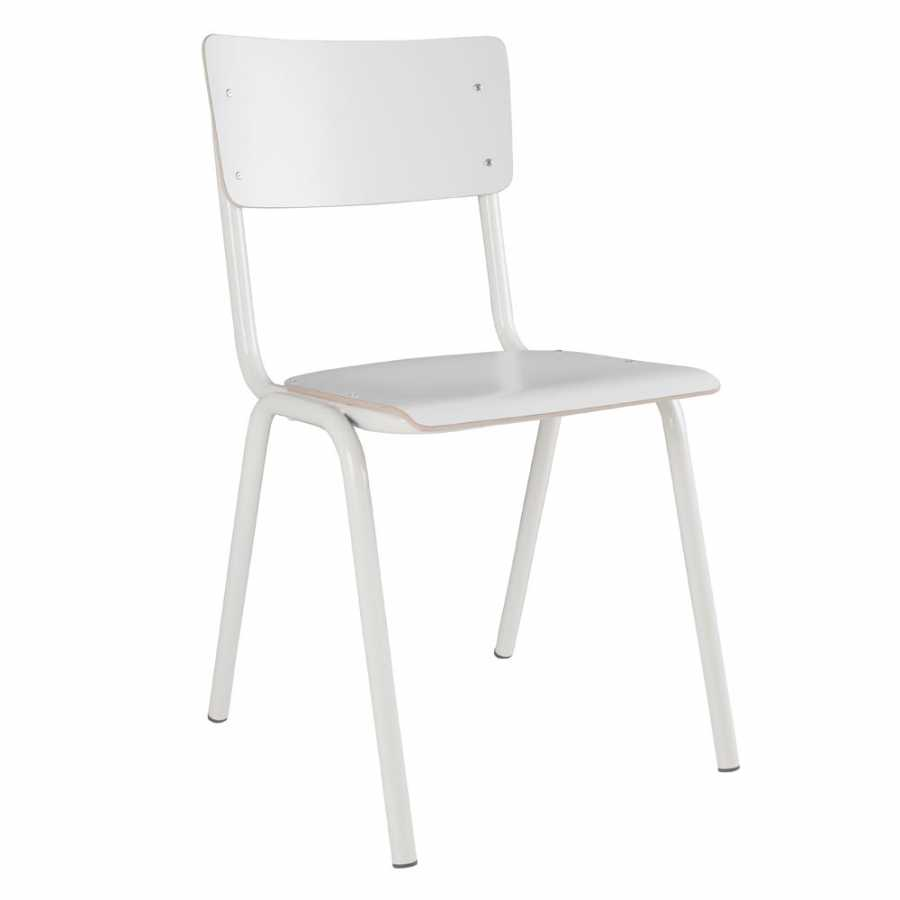 Zuiver Back To School Chairs - White