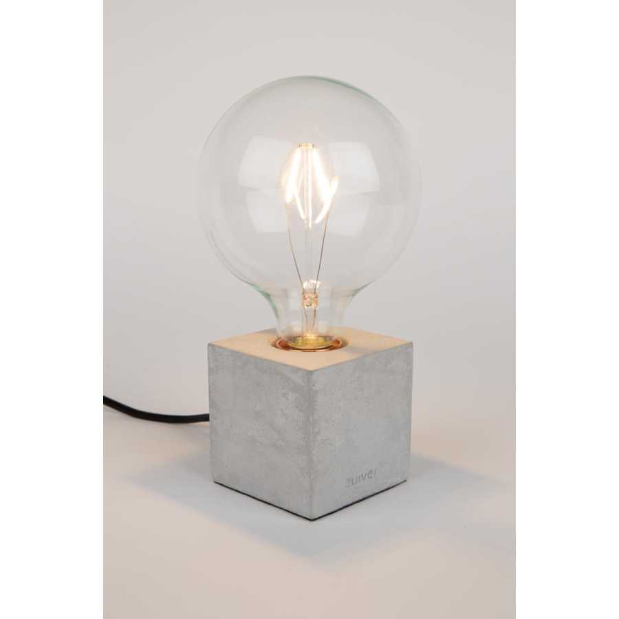 Zuiver Bolch Table Lamp - Concrete