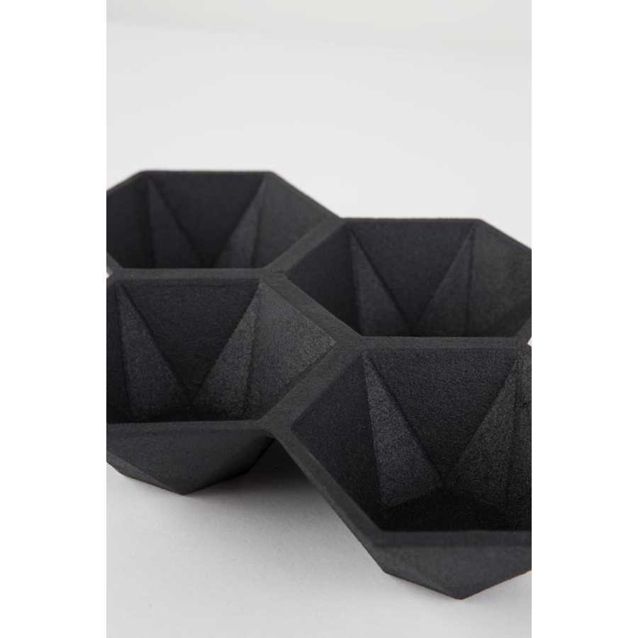 Zuiver Hexagon Trays - Black