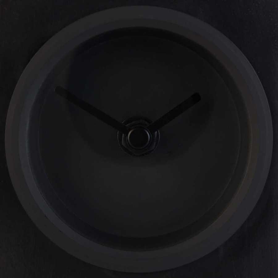 Zuiver Black Brick Table Clock