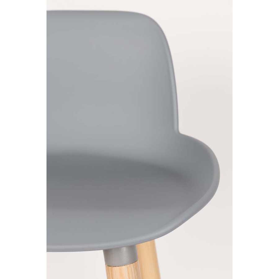 Zuiver Albert Kuip Bar Stools - Light Grey