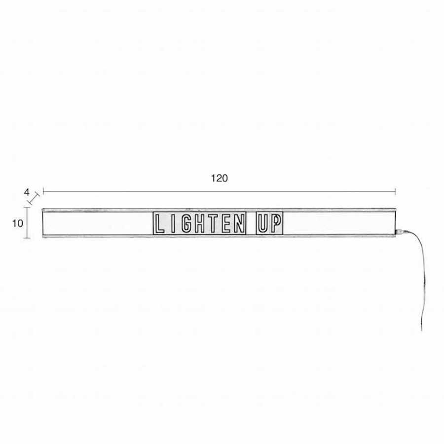 Zuiver Saber Wall Light - Sizes in cm