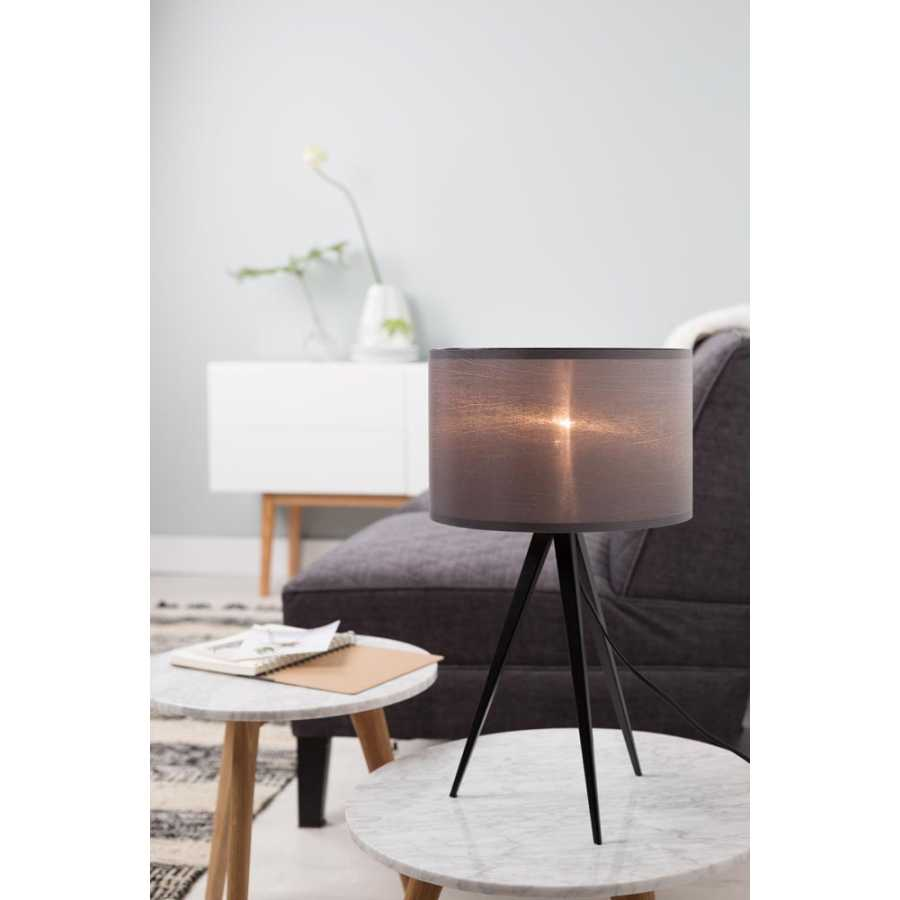 Zuiver Tripod Table Lamp - Black & Grey