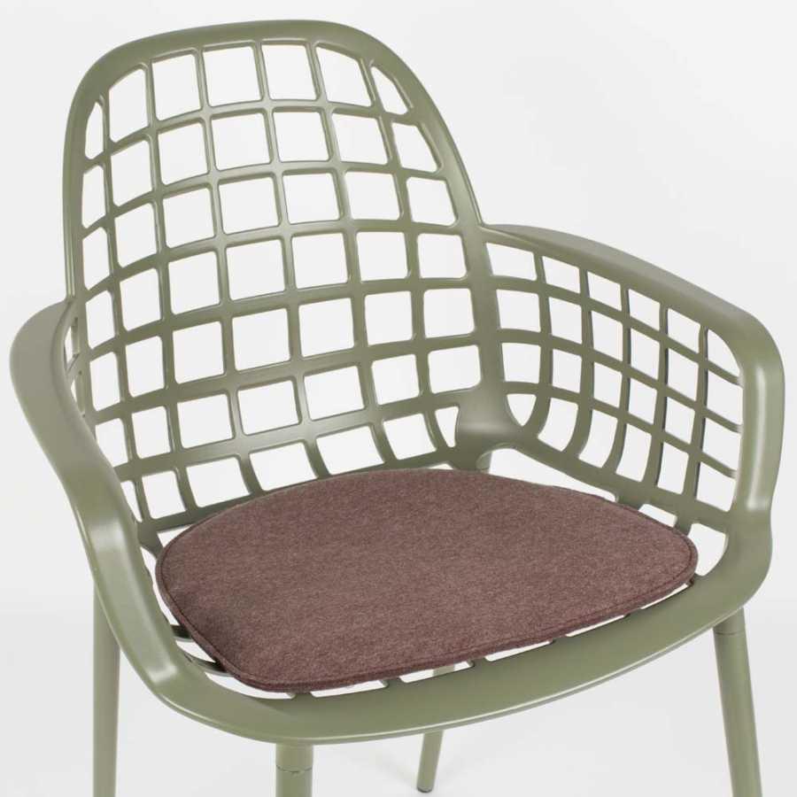 Zuiver Albert Kuip Fabric Cushion - Brown