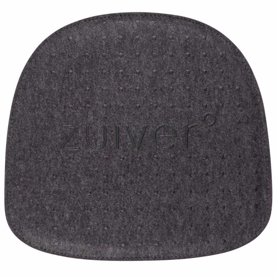 Zuiver Albert Kuip Fabric Cushion - Dark Grey