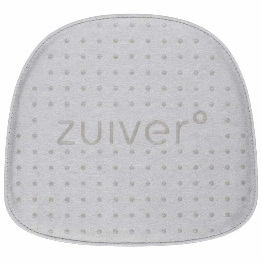 Zuiver Albert Kuip Fabric Cushion - Light Grey