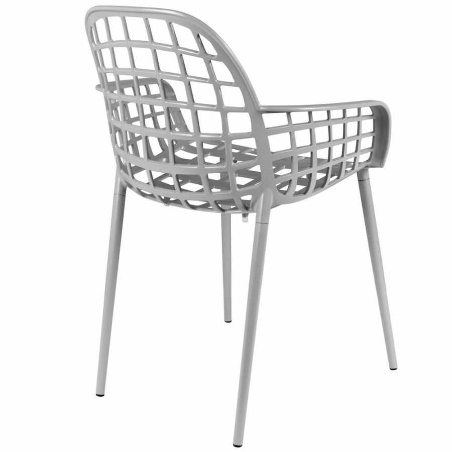 Zuiver Albert Kuip Garden Armchair - Light Grey