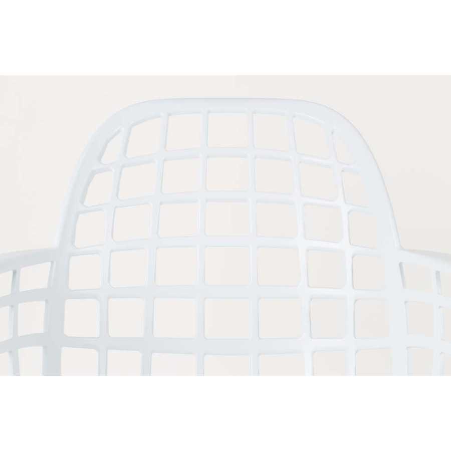 Zuiver Albert Kuip Garden Armchair - White