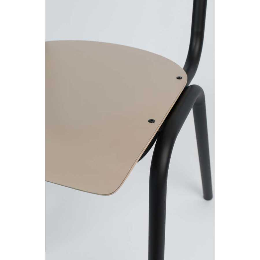 Zuiver Back To School Matte Chair - Beige