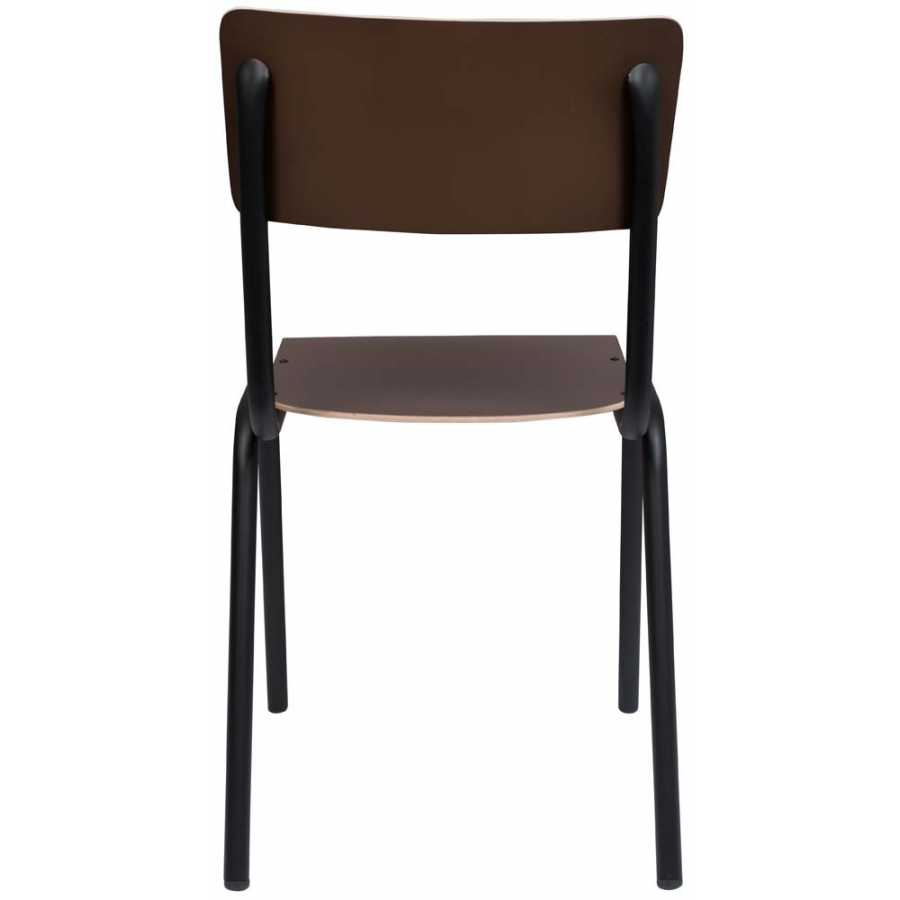 Zuiver Back To School Matte Chair - Brown
