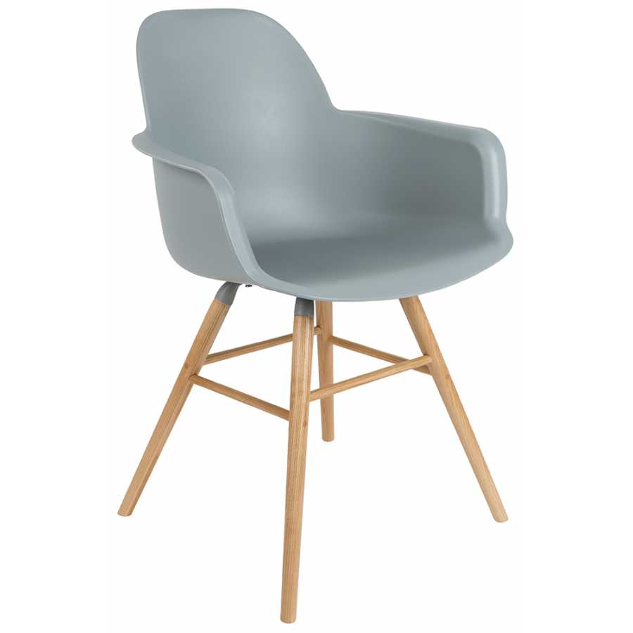 Zuiver Albert Kuip Armchair - Light Grey