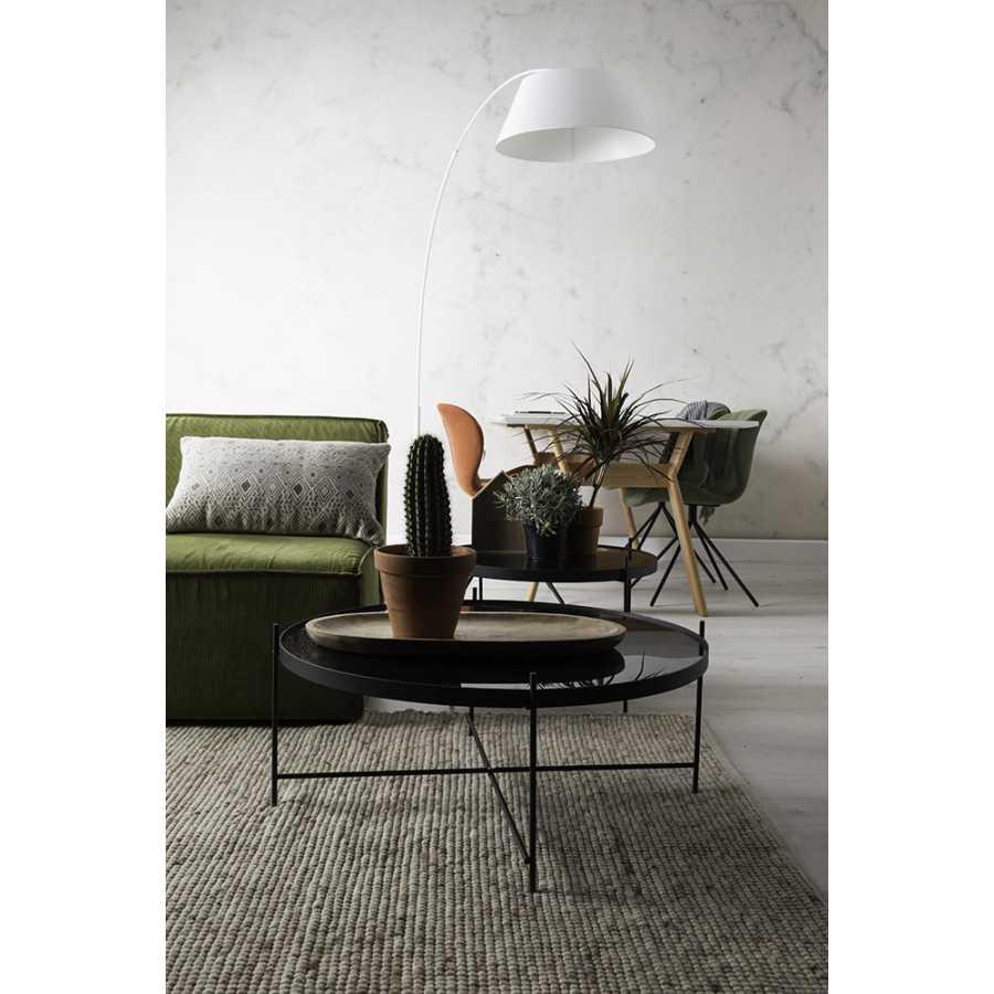 Zuiver Arc Floor Lamp - White