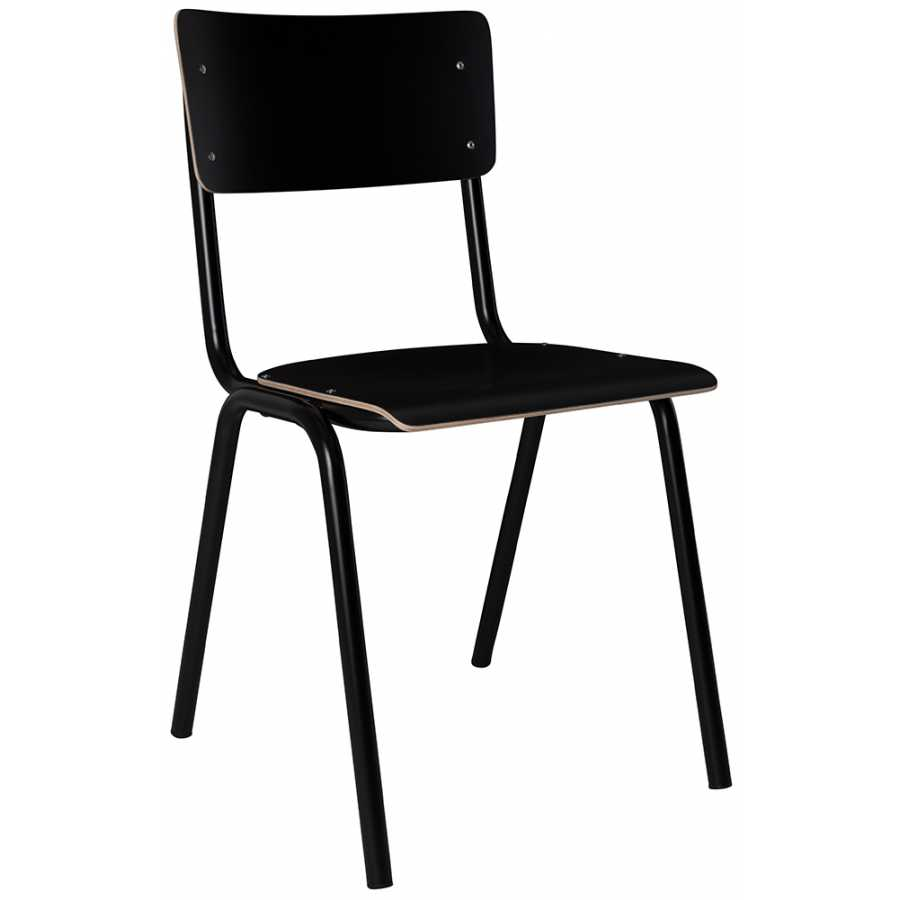 Zuiver Back To School Chairs - Black